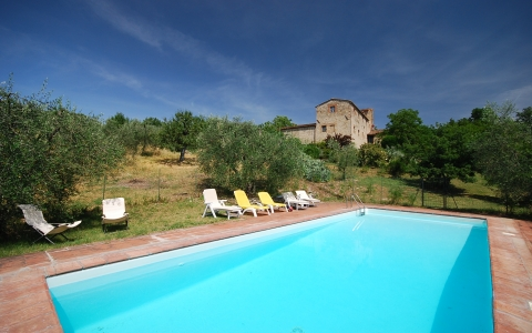 Holiday villa with pool PODERE LA CORTE