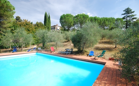 Holiday apartment with pool TOLFE 1