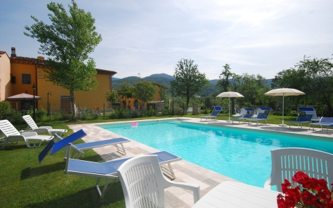 Holiday apartment with pool ARANCIO