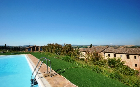 Holiday apartment with pool PAGACCIO 1