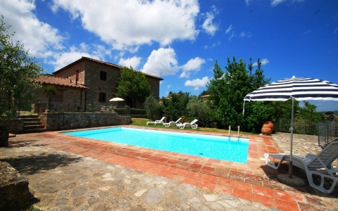 Holiday apartment with pool CASTAGNOLI 1
