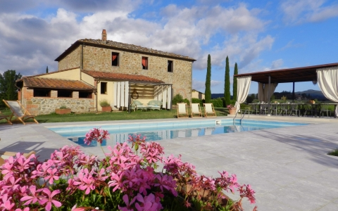Luxury villa with pool in Tuscany VILLA SOLEGGIATA