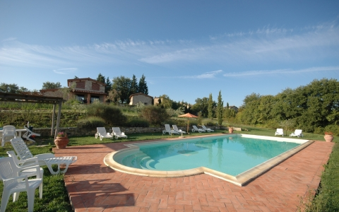 Holiday apartment with pool PIEVINA 1
