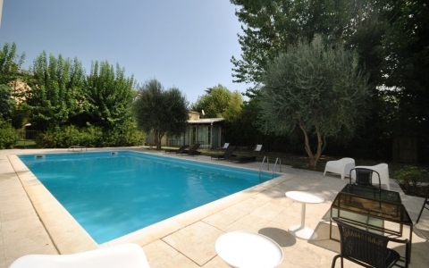 Holiday flat with garden CASA DELLE LANTERNE