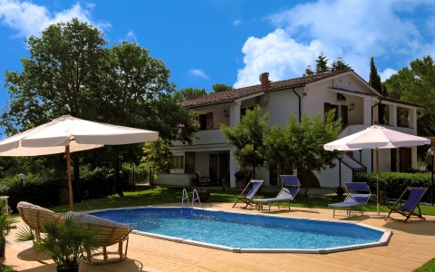 Holiday villa with pool VILLA CEPPATO