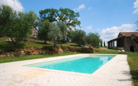 Holiday apartment with pool ADAMO