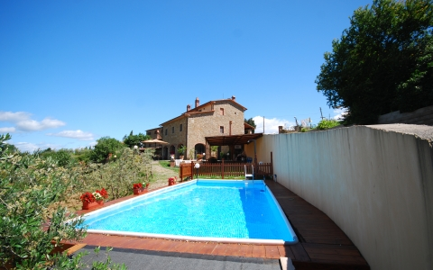 Holiday villa with pool BORGO LORI