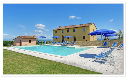 Private Villa with Pool San Gimignano CASALE VIGNETI
