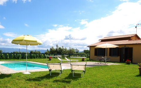 Holiday villa close to Cortona VILLA MIRELLA