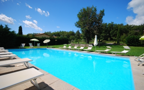 Holiday accommodation with pool ROSAS