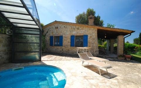 Holiday villa with pool NOCINO