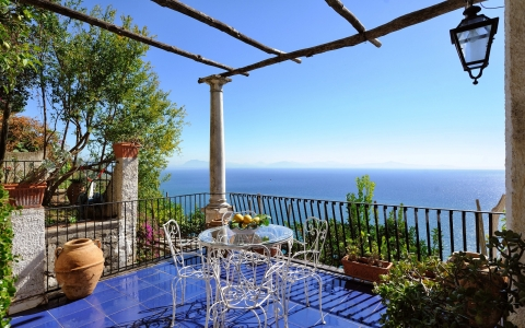 Holiday flat Sea view CASA PARADISEA