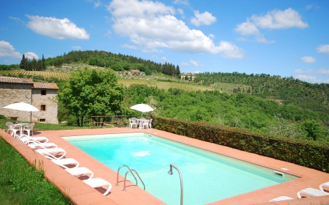 Holiday home with pool CERRETINO GRANDE