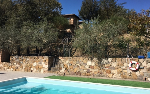 biancospino holiday villa pool tuscany