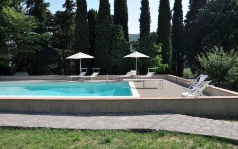 marghe san gimignano villa piscina pool wedding