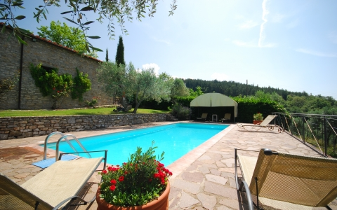 Holiday villa with pool POGGIONE