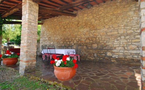 poggione chianti holiday villa pool gaiole eroica countryside hill