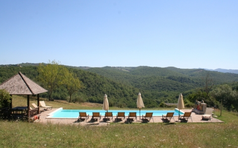 Comfortable holiday apartment in the Chianti Classico - CARO AMICO