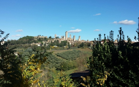 Holiday apartment in San Gimignano AGOSTINO