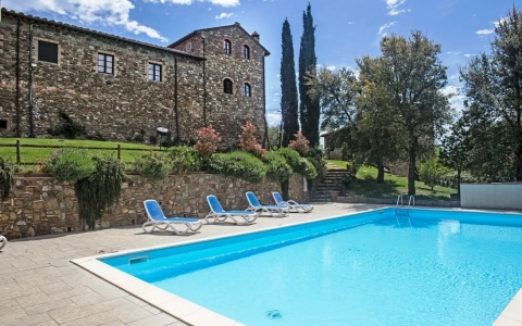 Holiday apartment with pool ARGIANO
