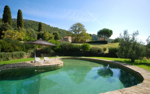 Holiday villa with pool ORCIA