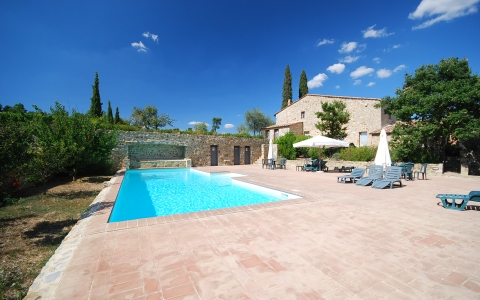 Holiday apartment with pool GELSO