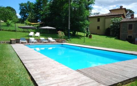 Holiday apartment with pool GONFALONIERE
