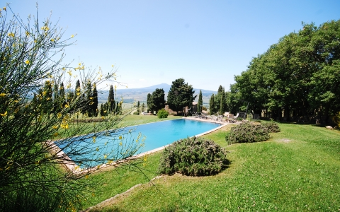 Valdorcia Holiday villa with pool PODERE VALLI