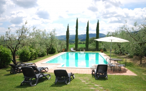 Holiday villa with pool CASETTA