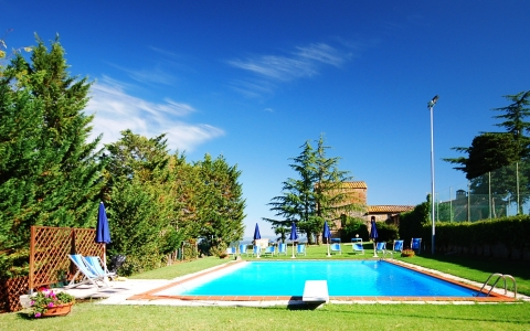 Holiday villa with pool VILLA LE TORRI