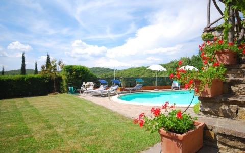Holiday villa with pool COLLEPETROSO