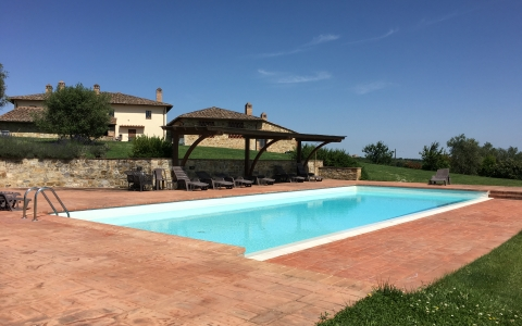 Holiday apartment with pool BORGONERO