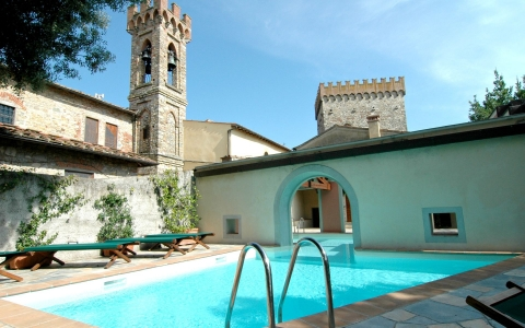 Holiday villa with pool CASTELLO DEL DUCA