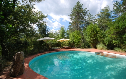 Holiday villa with pool PODERE DI STELLE