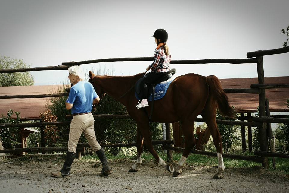 tuscany horse riding school