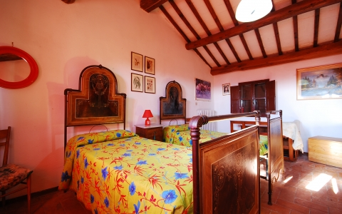 villa arco tuscany holiday villa countryside private pool bedroom
